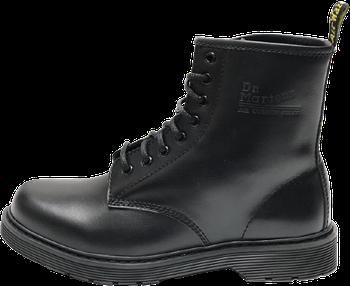 Мужские зимние ботинки Dr. Martens 1460 Black (Premium-Lux)без меха