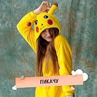 100% Оригинал! Без предоплаты! Покемон Пикачу кигуруми кингуру костюм пижама. Всегда в наличии!