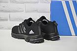 Мужские черные кроссовки сетка в стиле Adidas Springblade, фото 4