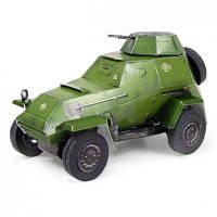 Сборная модель Умная бумага Бронеавтомобиль-64б серии Автомобили (165-01)