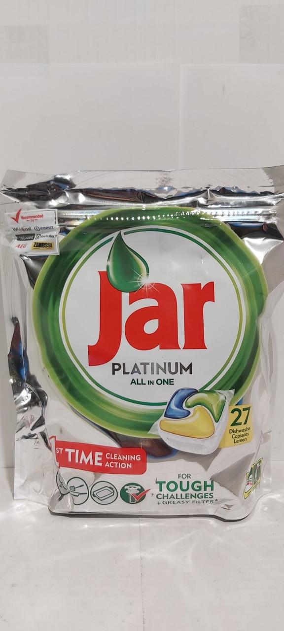 Fairy Jar Platinum капсулы  для посудомоечных машины 27шт