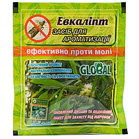 Таблетки от моли с запахом эвкалипта Global 10 шт