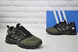 Мужские зеленые кроссовки сетка в стиле Adidas Springblade, фото 5
