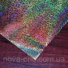 Плівка для гарячого тиснення Голограма золото Ширина 64 см, довжина 100м