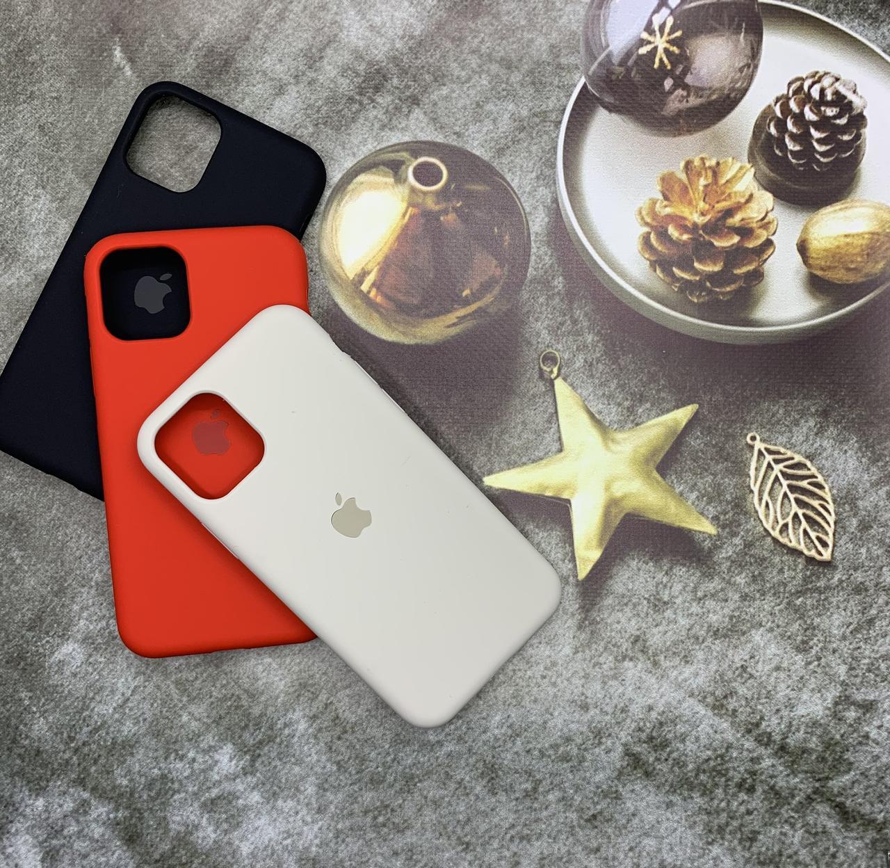 Чехол на iPhone 11 Pro силиконовый Silicone Case оригинальный цветной противоударный