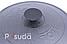 Крышка чугунная Ситон не эмалированная 400 мм Кр40ч, фото 4