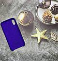Чехол на iPhone X силиконовый Silicone Case оригинальный цветной противоударный, фото 4
