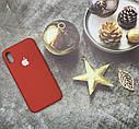 Чехол на iPhone X силиконовый Silicone Case оригинальный цветной противоударный, фото 3
