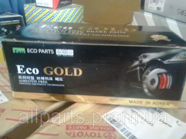 Eco GOLD колодки тормозные