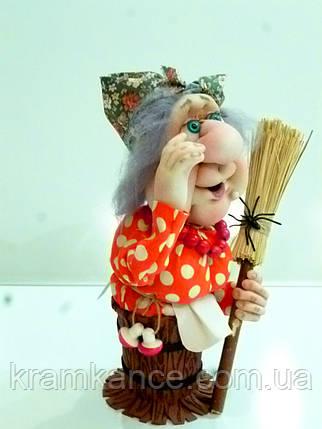 "Кукла сувенирная ""Яга в ступе"", фото 2"