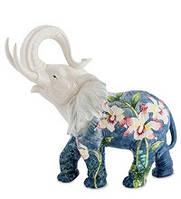 Фарфоровая статуэтка Слон (Pavone) JP-96/11