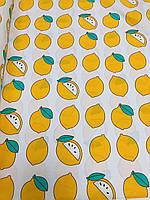 Ткань Бязь Gold Лимоны 220 см, фото 1