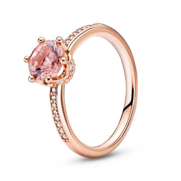 Пандора Кольцо Розовая корона (52) Pandora 188289C01