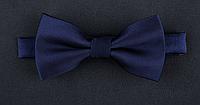 Краватка-метелик синій