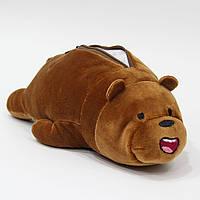 Пенал коричневый Медведь, фото 1