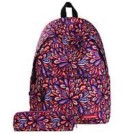 Рюкзак кольоровий з пеналом, фото 1