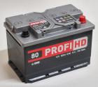 Автомобильный аккумулятор SADA PROFI HD 6СТ-80 Ач 12V 800 А R+ Украина