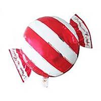 """Фольгированный шар 18"""" конфета красная"""