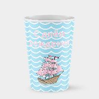 Стаканчик бумажный Море С днем рождения