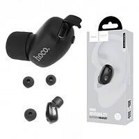 Bluetooth гарнитура HOCO E24 беcпроводная моно гарнитура, наушник с микрофоном, черный