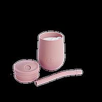 Чашка в наборе с крышкой и соломинкой, фото 1