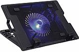 Охлаждающая подставка для ноутбука  ErgoStand Cooling Pad кулер с подсветкой, фото 2
