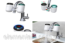 Проточный водонагреватель бойлер-кран для дома со встроенным фильтром  ZSW-D01