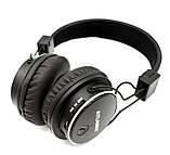 Беспроводные Bluetooth наушники Atlanfa AT-7611 Black c MP3 плеер, FM радио приемником и микрофоном, фото 4