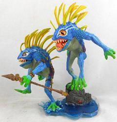 Фигурка Варкрафт Мурлоки Рыбоглаз и БормотунWorld of WarcraftFish-eye and Gibbergill15.5смWOW 21.95