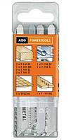 Набор пильных полотен по дереву, ламинату, металлу для электролобзика AEG 12 шт (4932373494)