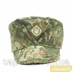 Военная кепка (Тризуб)  Brotherhood, цвет Flecktarn