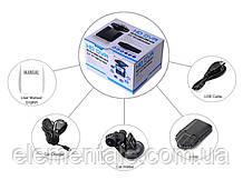 Автомобільний відеореєстратор DVR 198 HD з нічною зйомкою Black