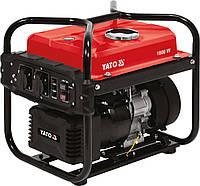 Генератор їв.струму інверторний бензиновий YATO: W= 1.8/2 кВт, U= 230 В, витрата - 1.13 л/р, бак - 10л