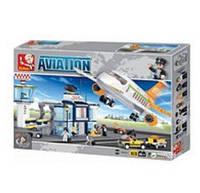 Конструктор Авиация 0367 (678 деталей)