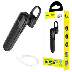 Bluetooth гарнитура HOCO E25 беcпроводная моно гарнитура, черный