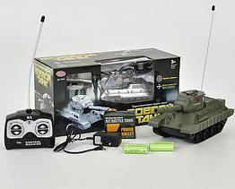 """Радіокерований Танк PLAY SMART 9342/9343 """"Бойовий танк"""" акум.стріляє кульками"""