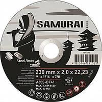 """Диск отрезной по металлу и нержавеющей стали SAMURAY ТМ """"VIROK"""" Ø=150х22.23 мм t=1.0 мм"""