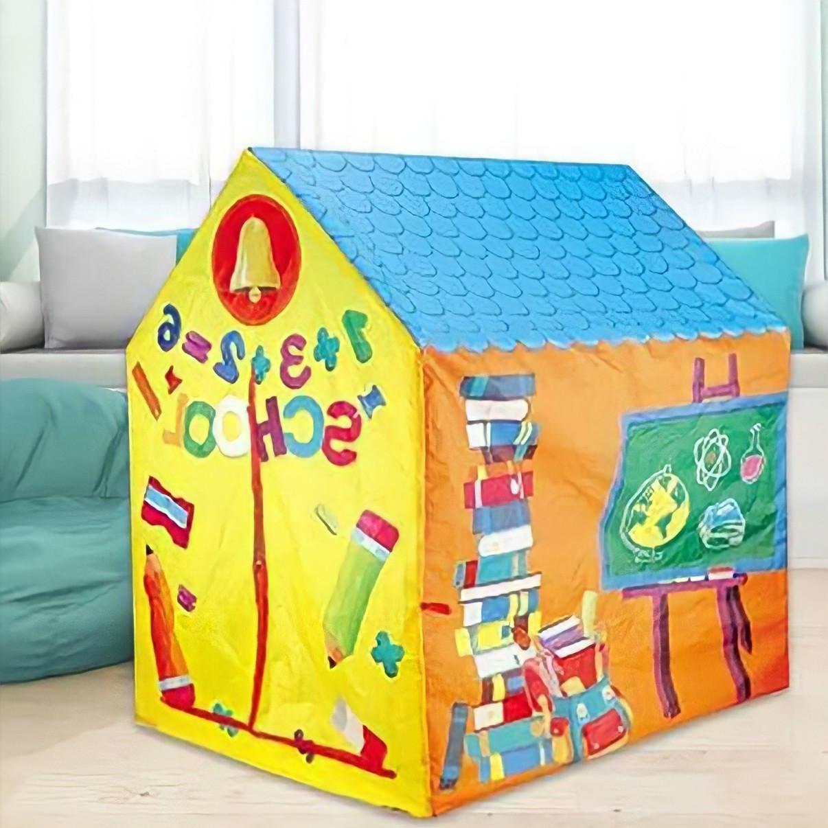 """Ігровий намет-будиночок School House / Дитячий намет-будиночок """"Школа"""""""