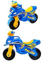 Мотоцикл-каталка МотоБайк Спорт музыкальная Фламинго 01391
