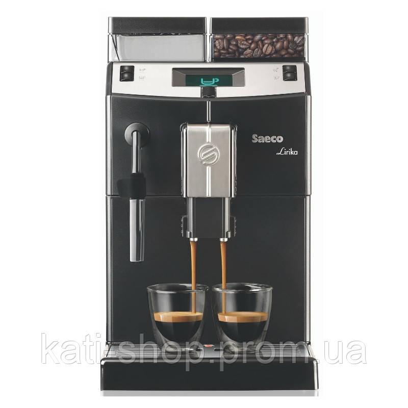 Кофеварка для дома Saeco Lirika Black 10004476 RI9840/01