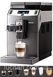 Кофемашина для дома профессиональная Saeco Lirika One Touch Cappuccino 10004768 RI9851/01, фото 4