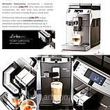 Кофемашина для дома профессиональная Saeco Lirika One Touch Cappuccino 10004768 RI9851/01, фото 6