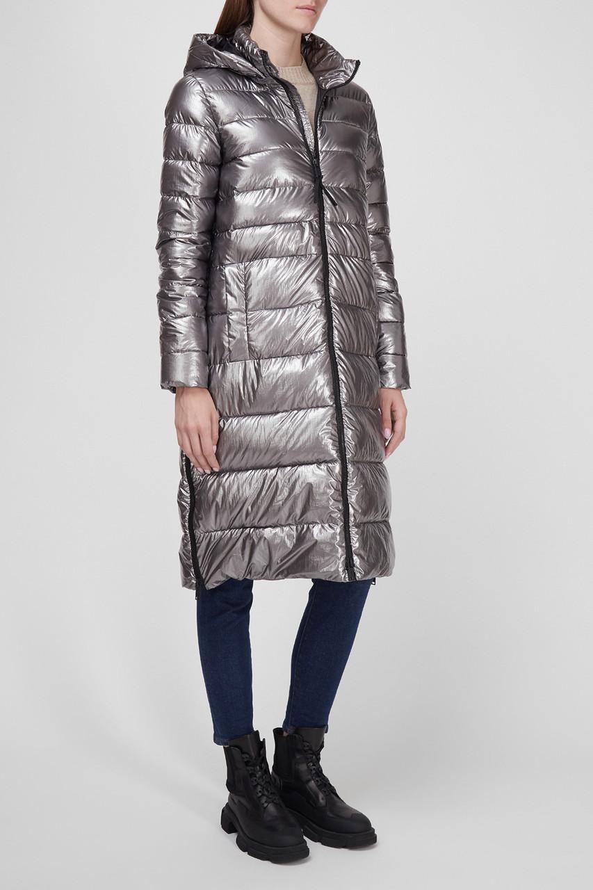 Длинная женская куртка одеяло CMP Snaps Hood 30K3516-U811
