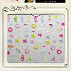 3D Наклейки для Ногтей Самоклеющиеся Nail Sticrer AL-B-23 Цветы, Кораблики, Солнышко, Лето Слайдер Дизайн, фото 3