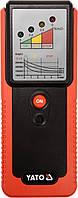 Тестер тормозной жидкости YATO с 4 диодными индикаторами и звуковым сигналом