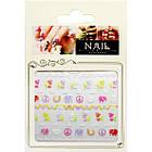 3D Наклейки для Ногтей Самоклеющиеся Nail Sticrer AL-B-24 Для Декора и Дизайна Ногтей, фото 2