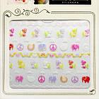 3D Наклейки для Ногтей Самоклеющиеся Nail Sticrer AL-B-24 Для Декора и Дизайна Ногтей, фото 3