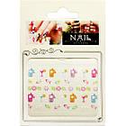 3D Наклейки для Ногтей Nail Sticrer AL-B-28 Мобилки, Цветы, Рыбки, Коктейли Слайдер Дизайн, Маникюр, фото 2