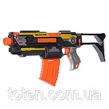 Бластер-автомат Дитячий SB409 (54 см) стріляє м'якими кульками 2 в 1 трансформується в пістолет (38 см) Т