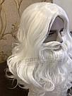 Профессиональная Борода Деда Мороза🎅🏼 из 100% Канекалона и Парик, фото 8